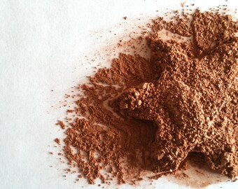 Mineral Bronzer Vegan Loose Powder, Golden Patina Face and Body Glow, FBHVC