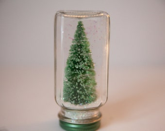 Snow Globe Glitter Tree, Winter is coming, Snow Globe