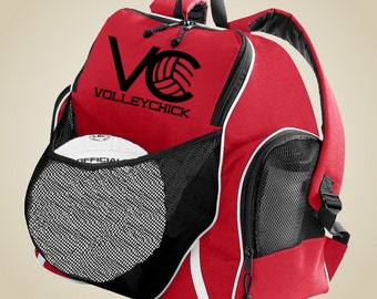 Volleyball gear bag - VolleyChick Ball holder Backpack