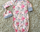 New Baby Girl Outfit//Newborn Coming Home Outfit//Welcome Home Outfit
