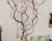 "24"" Natural Jewelry Tree with Natural Box/ Jewelry Organizer"