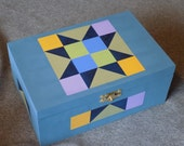 Indian Star Quilt Themed Box