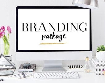Custom Branding Package: Social Media, Logo, Website, Letterhead, Business Card