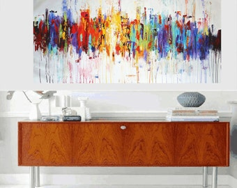 Art  Painting wall art large painting abstract painting acrylic painting oil painting  from jolina anthony signet  express shipping