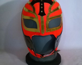 Rey Mysterio 619 mask Wrestling WWE Lucha Libre Mask Halloween day of the dead luchador Mardi Gras Mask masquerade Star Wars