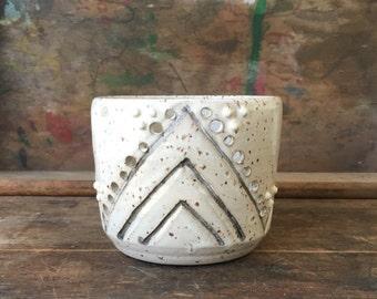 Geometric Boho White Black Candle Lantern - Summer - Patio - Home Decor - Outdoor - Lighting - Wedding - Bridal - Gift - Minimal - Luminary
