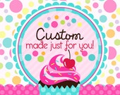 30 Fondant cupcake toppers--bat, ghost, pumpkin, headstone, eyeball and witch's hat reserved for  Christina