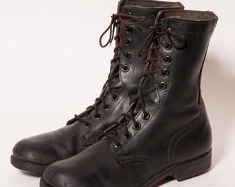 30% OFF Men's Black Combat Boots Size 10 R
