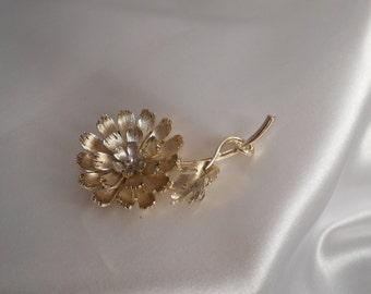 LISNER Floral Designer Signed Brooch / Estate Jewelry Lisner Brooch / Vintage Lisner Brooch / Lisner Pin / Lisner Estate Jewelry / LISNER