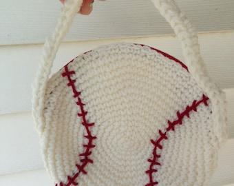 Baseball Purse Pattern / Crochet Purse / PDF Download Only