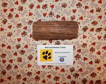 """Organic Large Elk Antler Dog Chew Split """"Made in Montana"""" (Lot C29)"""