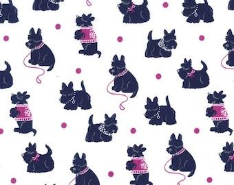 Michael Miller Fabric {by the yard} Bespoke Scotties Jewel