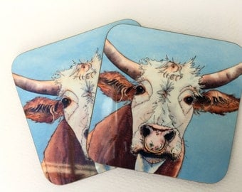 Silly Moo- ''arry' coaster
