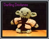 Crocheted Yoda - Star Wars