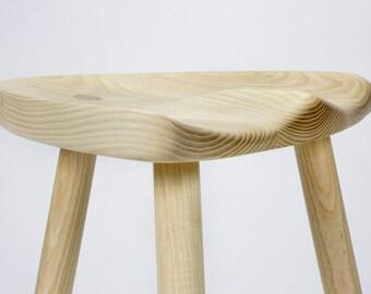Milking stool in white ash & White milking stool | Etsy islam-shia.org