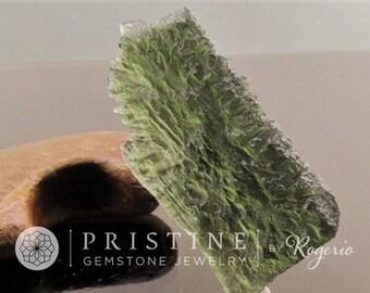 Moldavite Over 53 Carats Rare Gemstone Meteorite Origin Collector Piece