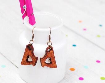 Tea Cup Earrings | Dangle Drop Earrings | Tea Lover | Valentines Gift