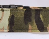 Dog Collar - Dog, Martingale or Cat Collar - All Sizes - Camouflage