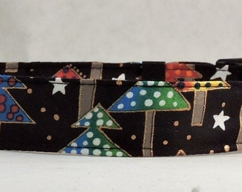 Christmas Dog Collar - Dog, Martingale or Cat Collar - All Sizes - Trees of Christmas
