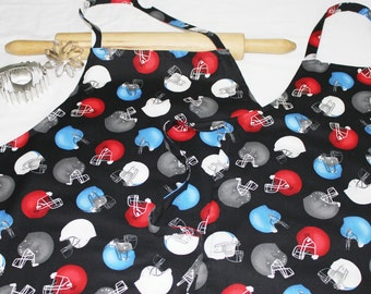 Football Helmets Father Son Aprons