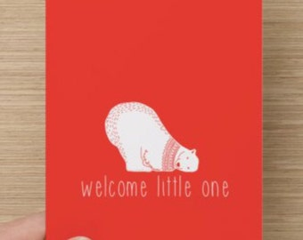 Newborn Congratulations Baby Card
