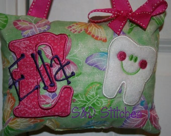 Tooth Fairy Pillow for Girls Personalized