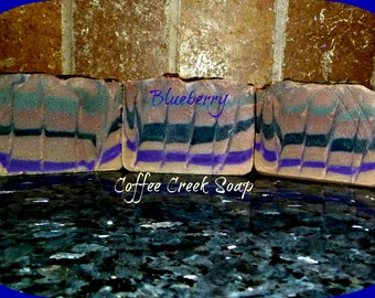 Blueberry natural soap