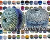 Comfort yarn. Natural viscose cotton blend yarn. 2016 spring-summer colors. Set of 5 skeins Wholesale SALE DSH