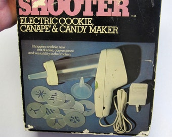 Wear Ever Super Shooter Complete In Original Box With Attachments