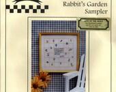 Brightneedle: Rabbit's Garden Sampler (OOP) - Cross Stitch Kit
