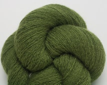 Lace Weight Recycled Cashmere Yarn, Kelp Forest Recycled Lace Weight Cashmere Yarn, Green Cashmere Yarn, 2055 Yards Available