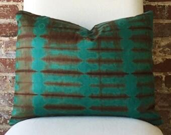 Inka Tie Dye Pillow w/ down insert - #3