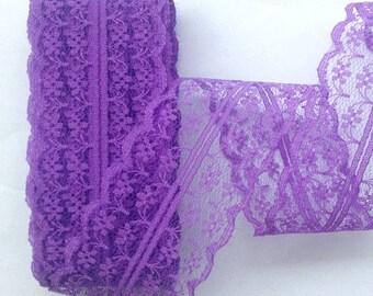 """Purple Lace-40mm-1.57""""-3 yds."""