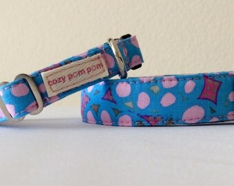 Pink Bubbles - Eco Dog Collar
