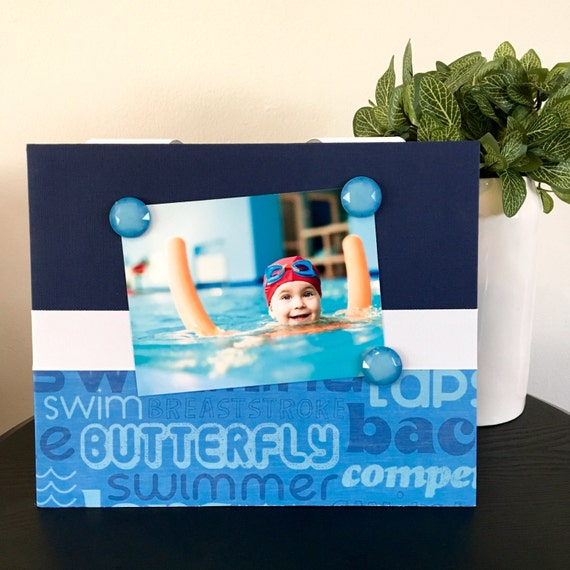 Swimming Sayings Sports Magnetic Frame