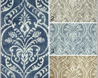 Damask Rod Pocket Curtains Pinch Pleat Panels Grommets Curtains Tab Top Curtains Swavelle Mill Creek Panels 50x84 50x96 50x108