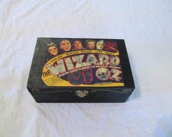 Wizard of Oz Keepsake Storage Trinket Box