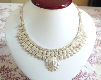 Stunning Intricate Thai Princess Necklace