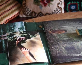 Secret Folder - Two 15x21cm plus one 20x30cm matte prints, titled and signed