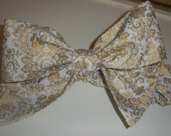 Adorable cotton blend Headband Bow great dressed up or down