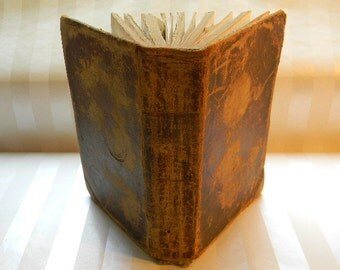 Antique HOLY BIBLE, Old and New Testaments, American Bible Society, 1839