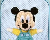 AD06- Crochet Minnie Mickey Mouse Baby, Disney Amigurumi, Japanese pattern diagram, PDF
