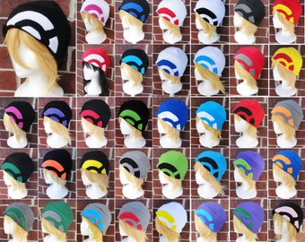 Pokemon Go and X & Y Trainer Hats - Team Valor, Instinct, and Mystic - Fleece Adult, Teen, Kid - A winter, nerdy, geekery gift!