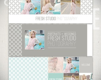 Facebook Timeline Cover Templates: Fresh Studio - 3 Facebook Covers