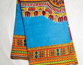 Dashiki  Holland Java Soft Angelina Fabric/Dashiki/Dashiki Clothing/Dashiki Dress/Dashiki Skirt/ Dashiki Pillow/Dashiki Fabric 6 yards