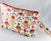 Knitting Baskets..wedge bag