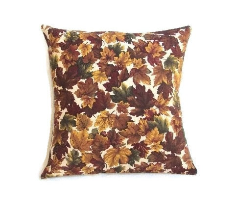 Fall Decorative Pillow Fall Pillow Covers 16x16 Pillow