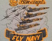 Vintage Blue Angels Navy T-Shirt