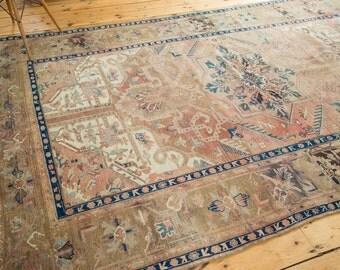 6.5x10 Vintage Kars Carpet