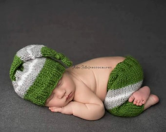 newborn photo outfits for boys - baby boy newborn photo outfit - baby hat pants set - Baby Boy hat and pant gift -Baby Boy pant set gift